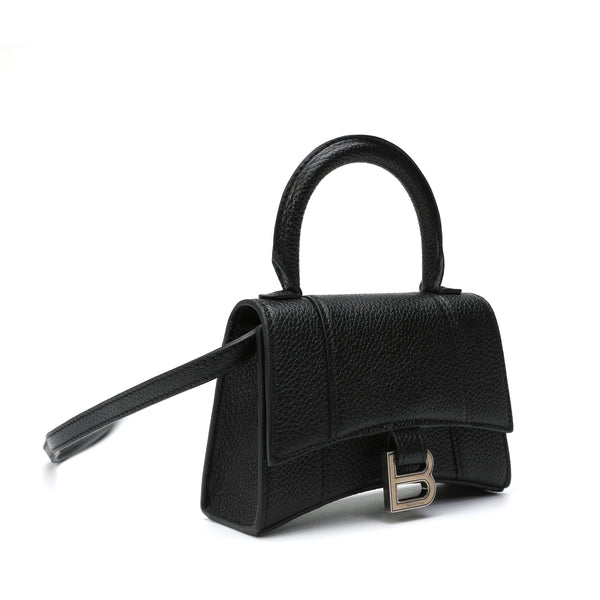 Hourglass Mini Top Handle Shoulder Bag