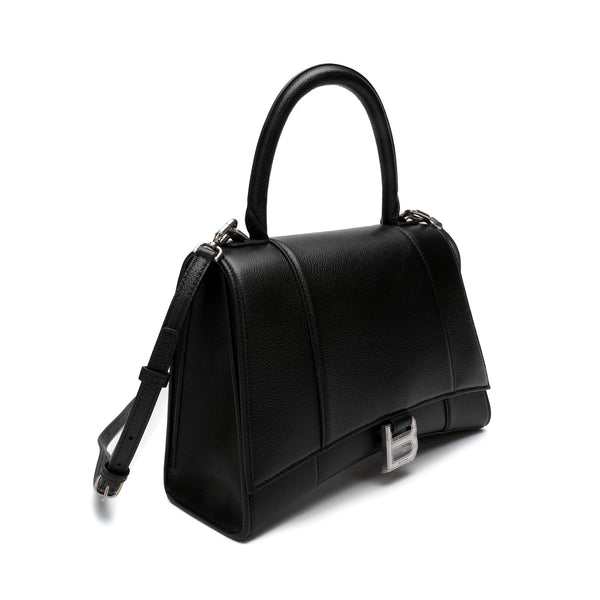 Hourglass Top Handle Handbag