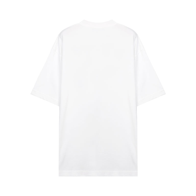 Oversize Cotton T-shirt with Logo