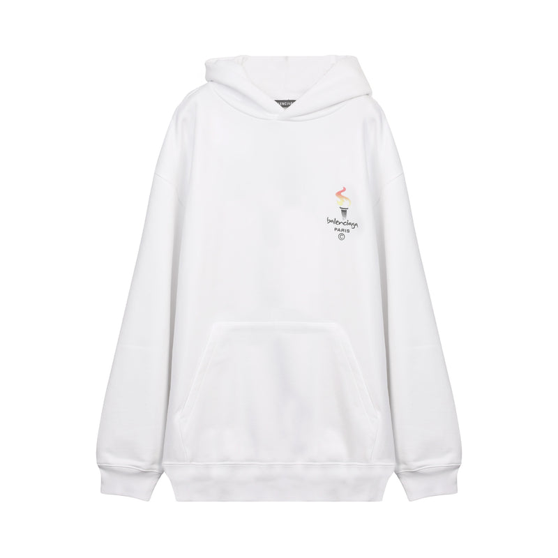 Paris Olympics Embroidered Hoodie