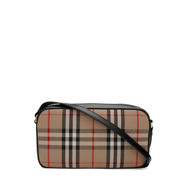 Burberry Vintage Check Cotton Camera Bag