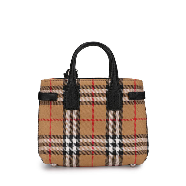 Burberry Baby Banner Vintage Check Tote