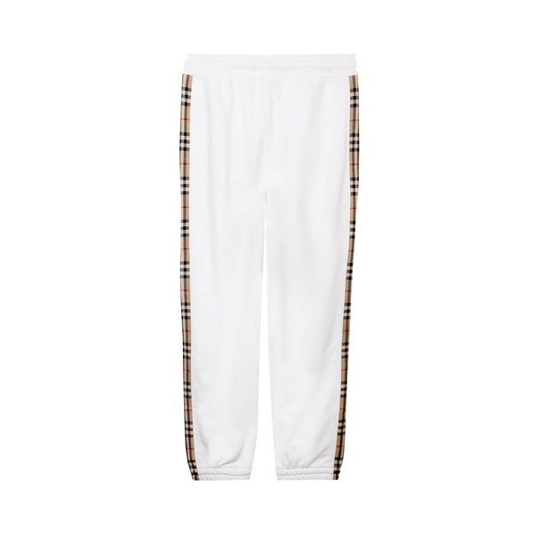 Check-stripe Track Pants