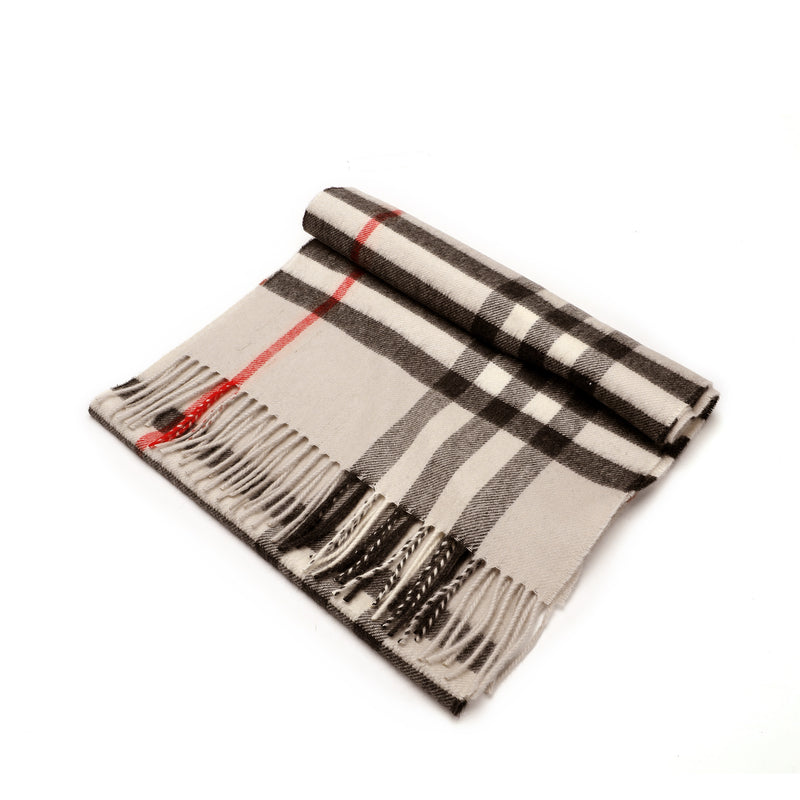 The Classic Check Cashmere Scarf