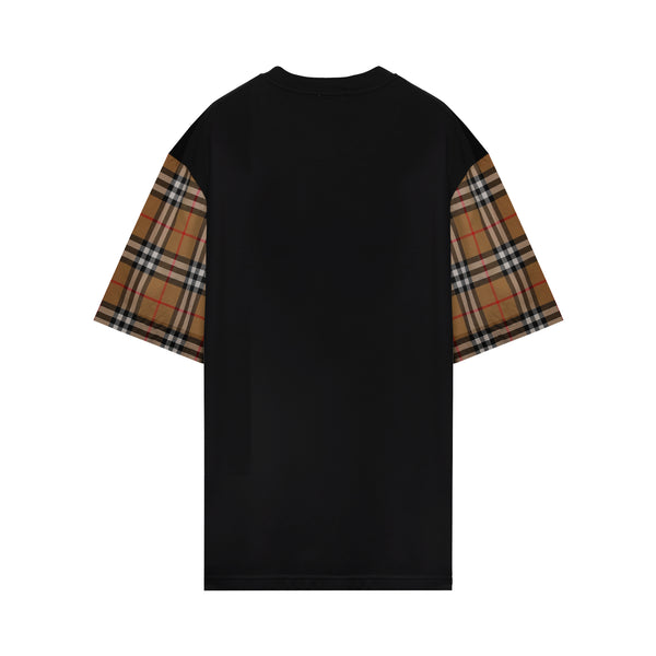 Vintage Check oversized T-shirt