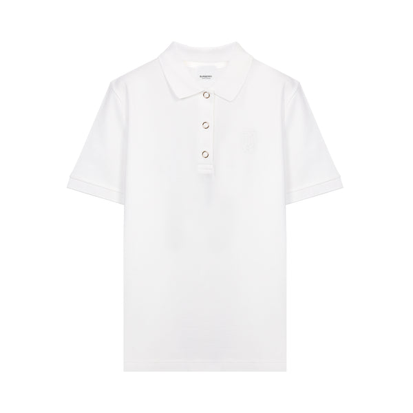 Monogram Motif Piqué Polo Shirt