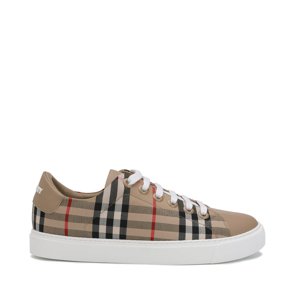 Vintage Check Lace-up Sneakers