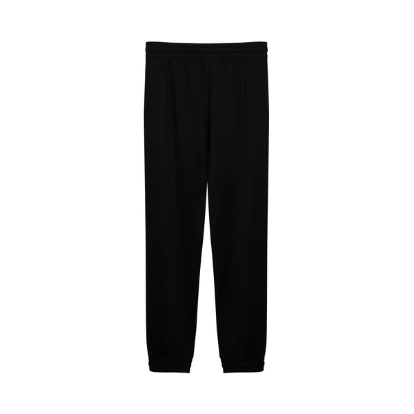 Monogram Logo Cotton Track Trousers
