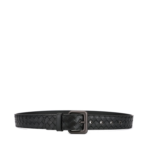 Bottega Veneta Signature Intrecciato Leather Belt