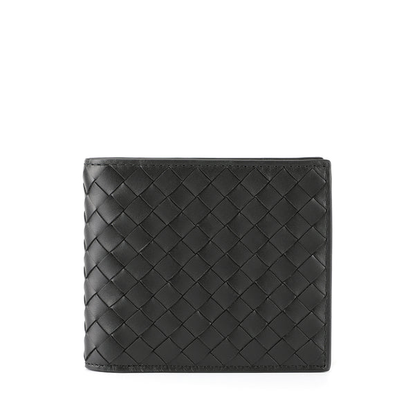 [CLEARANCE] - Signature Intrecciato Leather Short Wallet