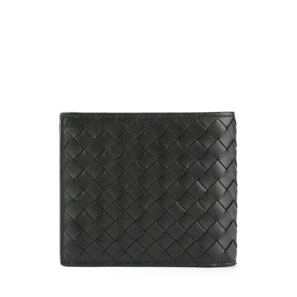 [CLEARANCE] Signature Intrecciato Leather Short Wallet