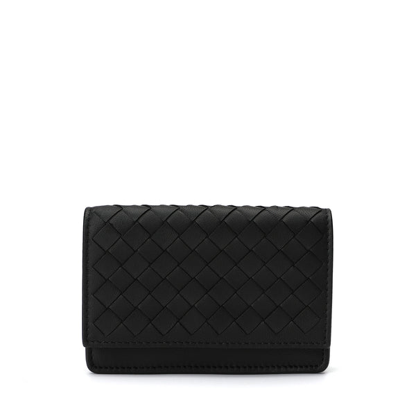 [CLEARANCE] - Woven Leather Bifold Card Holder
