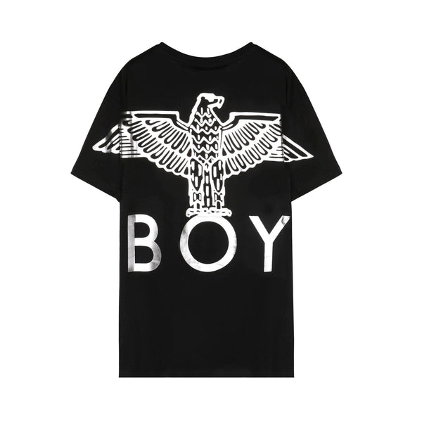Eagle Back Print Cotton T-Shirt