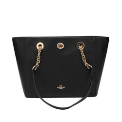 Coach Turnlock Chain Tote 27