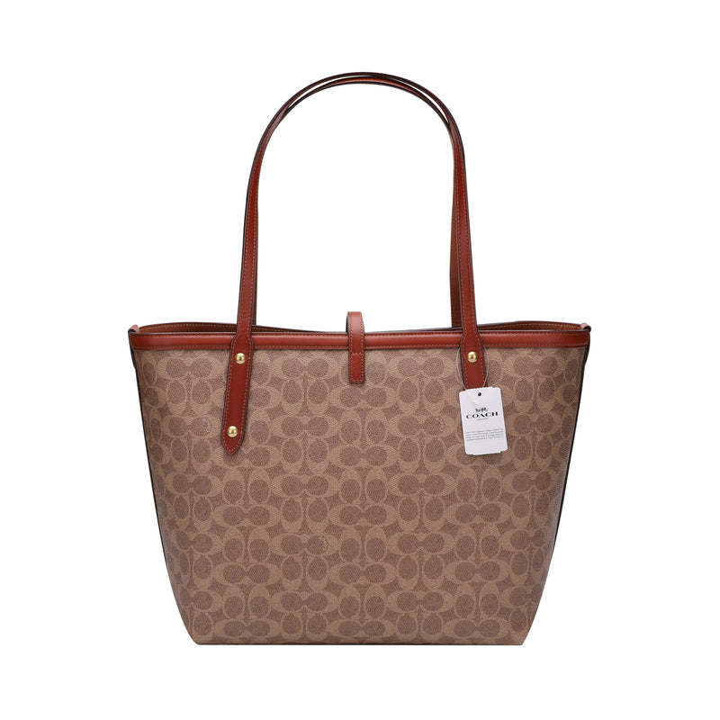 [CLEARANCE] - Market Tote In Signature Canvas