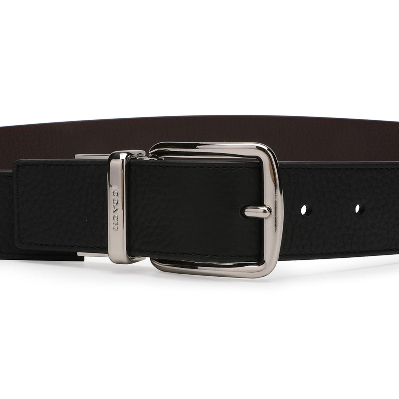 [CLEARANCE] - Boxed Wide Plaque Cut-To-Size Reversible Belt