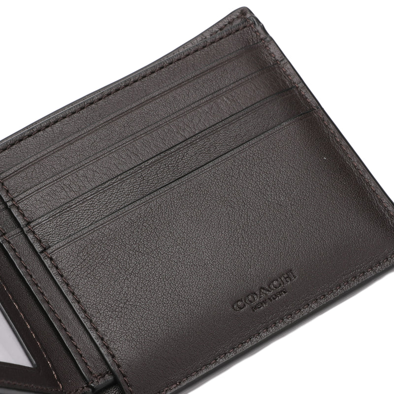 [CLEARANCE] - Compact ID Wallet in Signature Canvas