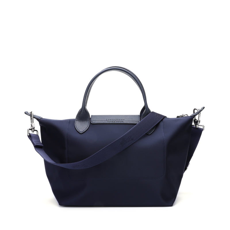Le Pliage Neo Small Top Handle Bag with strap