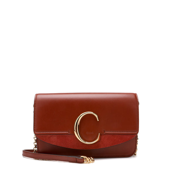 "[Lowest Price] - ""C"" Clutch with Chain"
