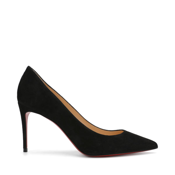 Kate 85 Black Suede Leather Pumps