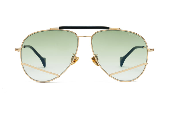 JOY Gold Aviator Sunglasses