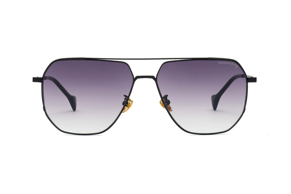 SAGACIOUS Black Aviator Sunglasses