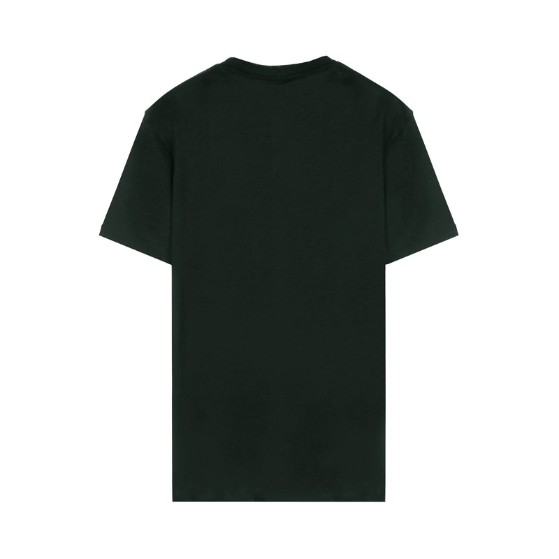 [CLEARANCE] - Cotton interlock jersey T-shirt with eagle print