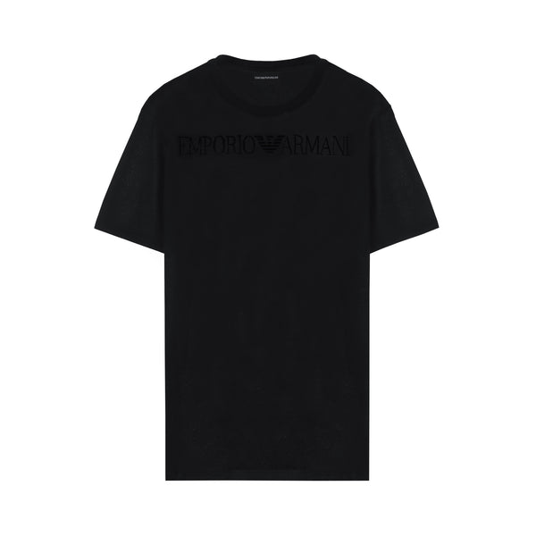 Tonal long logo stamp T-shirt