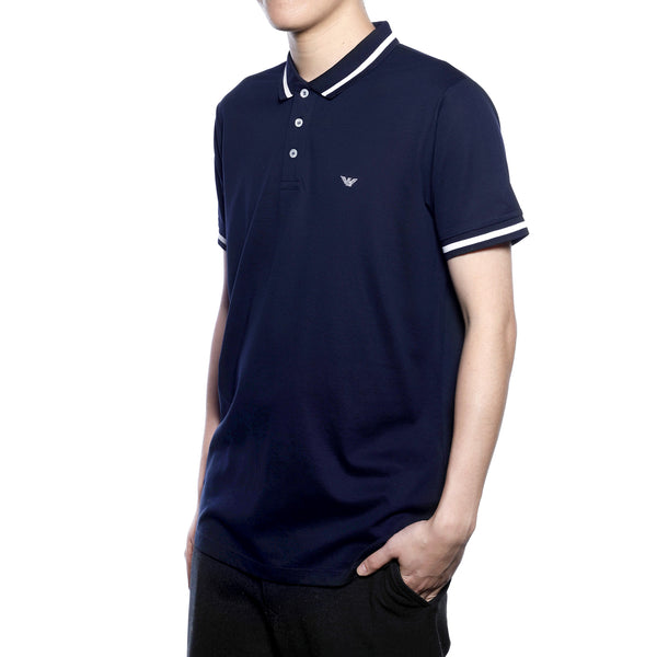 [CLEARANCE] - Embroidered Eagle Logo Polo Shirt