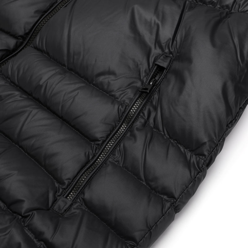 EA7 logo plaque Down Jacket