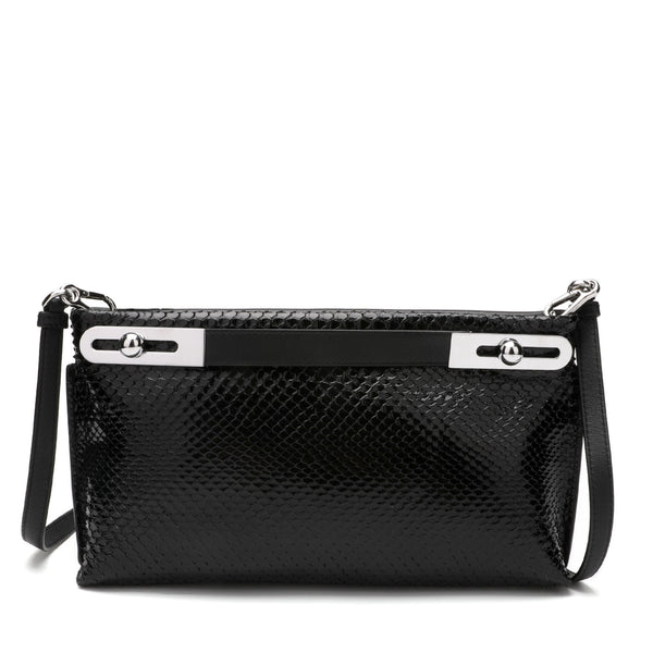 [CLEARANCE] - Missy Small Python Clutch Bag