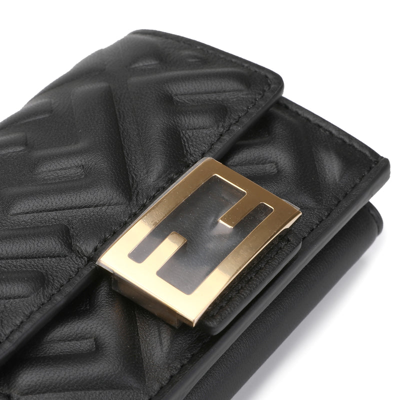 F is Fendi Trifold Wallet