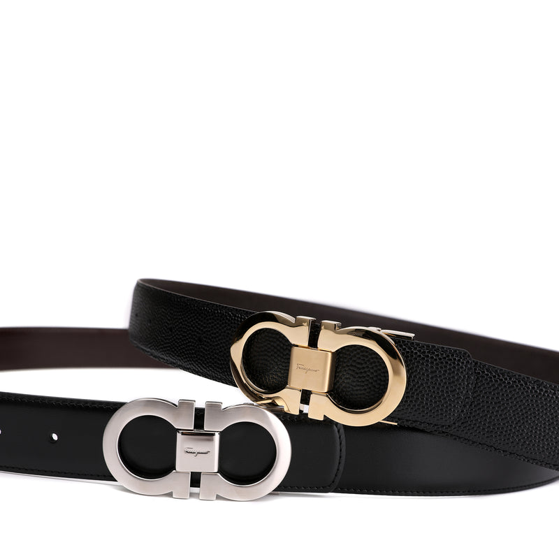 Salvatore Ferragamo Adjustable Gancini Belt Box