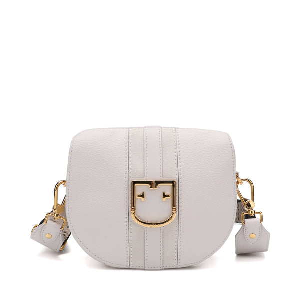 Furla Gioia Mini Crossbody In Grainy Leather