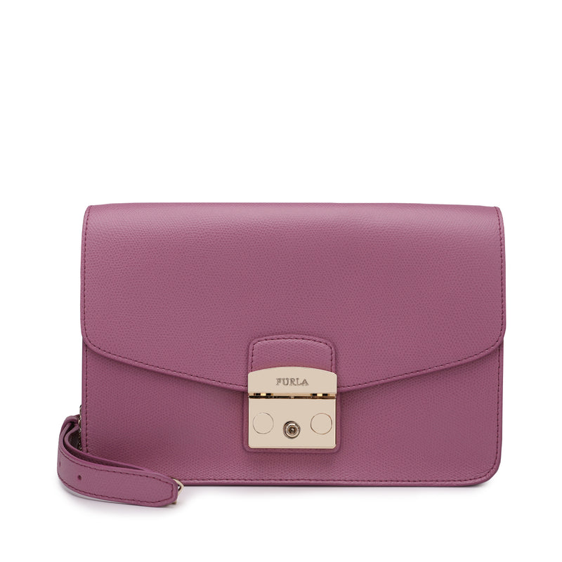 Furla Metropolis Shoulder Bag S in Textured Leather