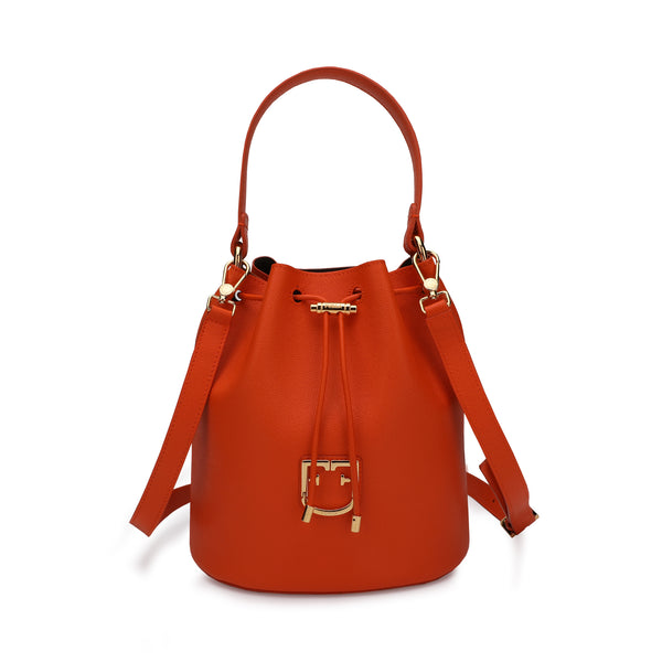 Furla Corona Bucket Bag S in Grainy Leather