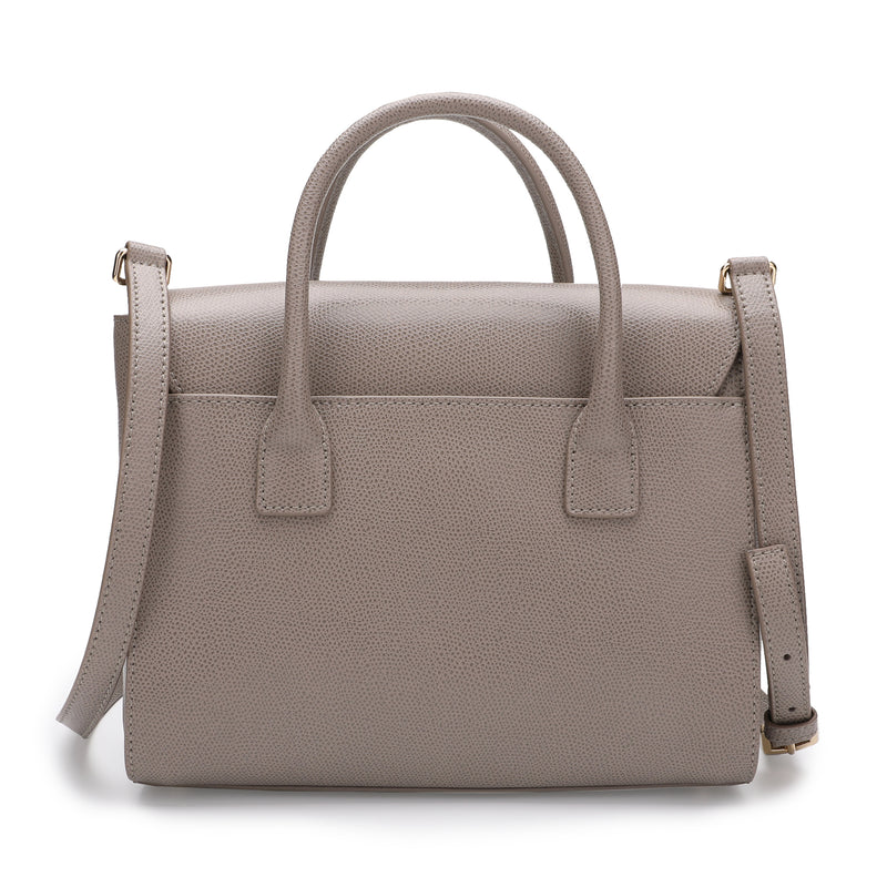 [CLEARANCE] - Metropolis Satchel S in Textured Leather