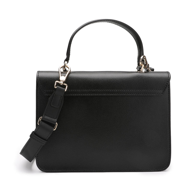 [CLEARANCE] - Metropolis Top Handle Bag S in Textured Leather