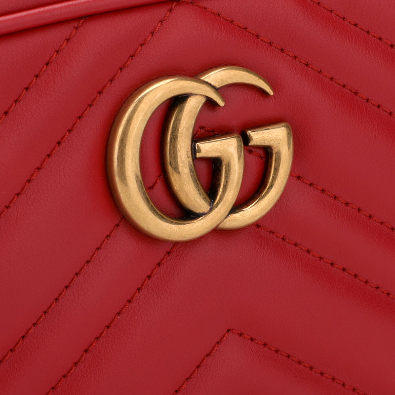 [CLEARANCE] GG Marmont Camera Mini Quilted Leather Shoulder Bag