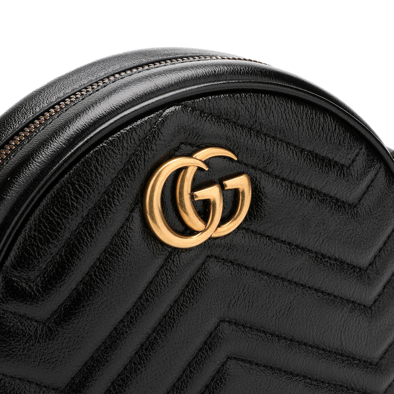 Gucci GG Marmont Mini Round Shoulder Bag