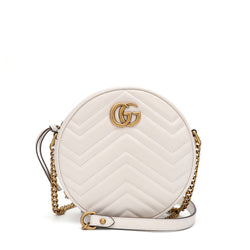 [LOWEST PRICE] -GG Marmont Mini Round Shoulder Bag