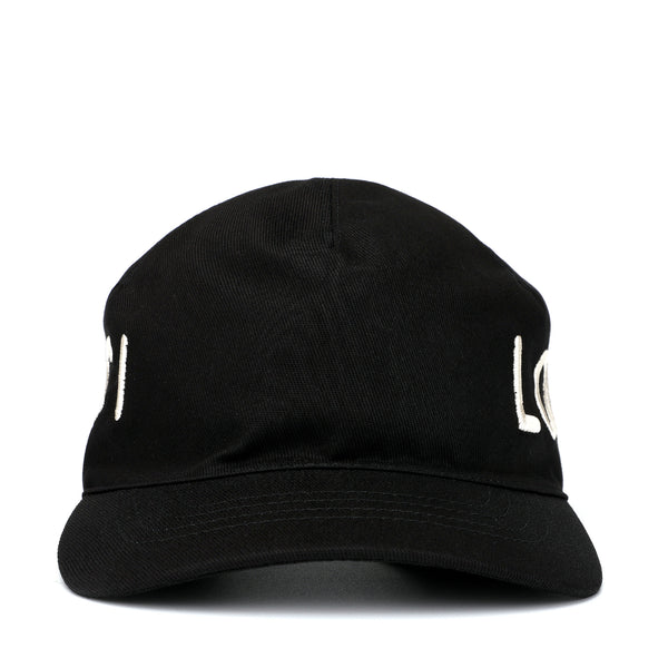 Gucci Embroidered Canvas Baseball Hat