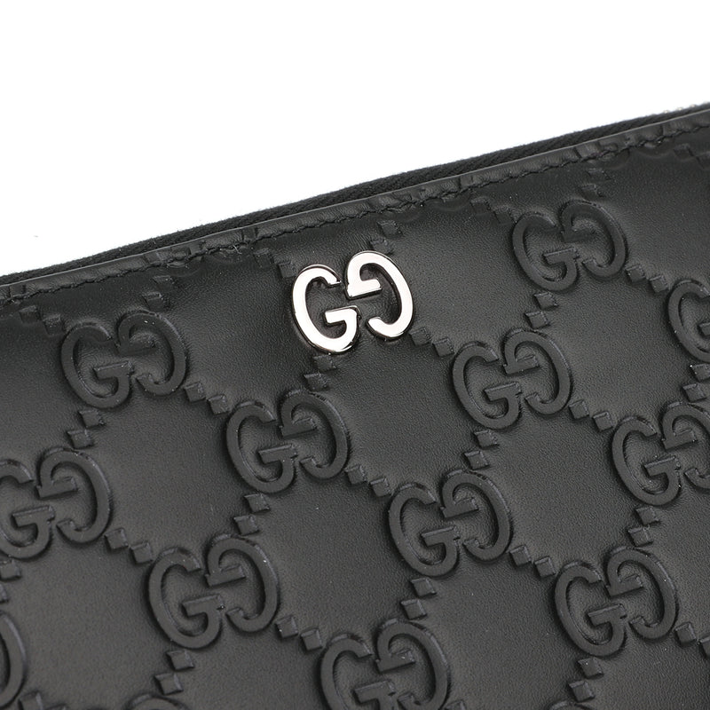 [CLEARANCE] - Gucci Signature Zip Around Wallet
