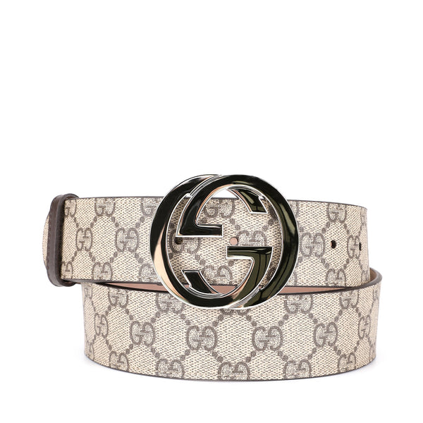 Gucci Supreme Double G Buckle Belt