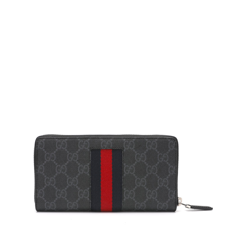 [CLEARANCE] - Web GG Supreme Zip Around Wallet