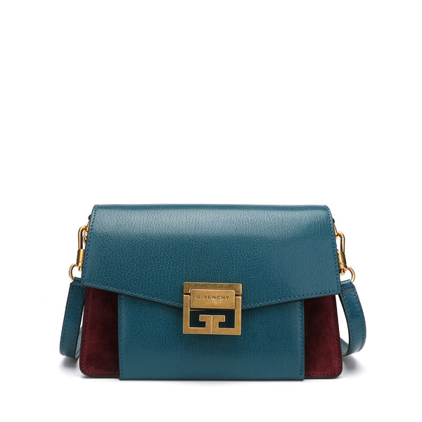 Givenchy Small Gv3 Bag in Grained Leather And Suede