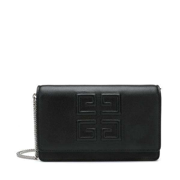 Givenchy 4G Pouch Wallet with Chain Strap