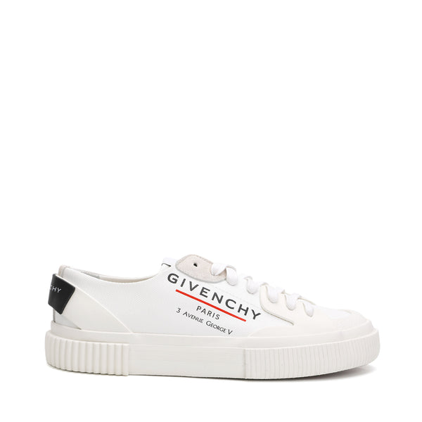 Address Logo-print Low-top Sneakers