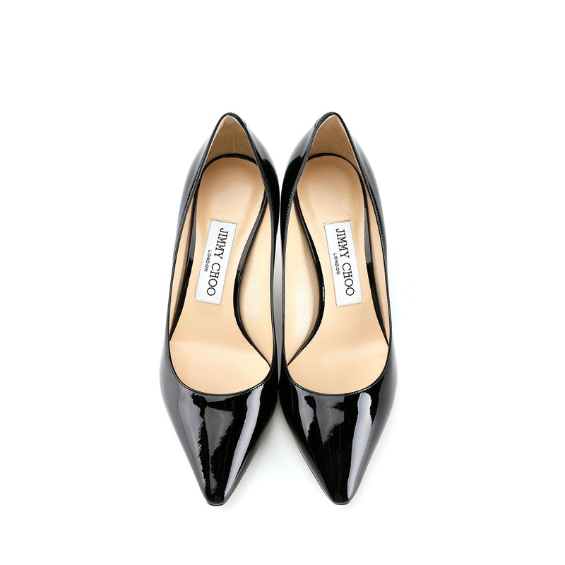 Jimmy Choo ROMY 60 Patent Leather Pointy Toe Pumps