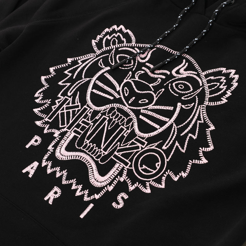 [CLEARANCE] - Tiger Logo Embroidered Hoodie